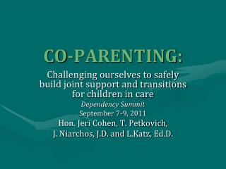 CO-PARENTING: