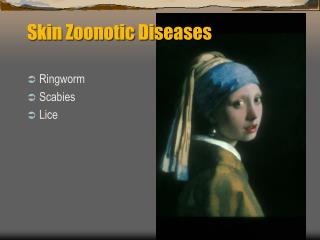 Skin Zoonotic Diseases