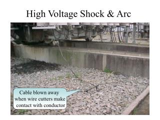 High Voltage Shock  Arc