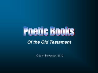 Of the Old Testament