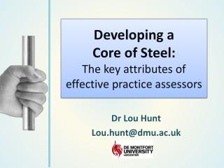 Developing a core presentation