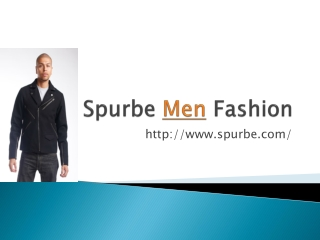 Spurbe Men Fashion