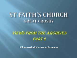 St Faith s Church Great Crosby