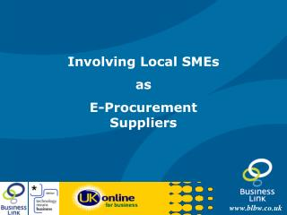 Involving Local SMEs as E-Procurement Suppliers
