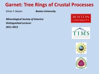 Garnet: Tree Rings of Crustal Processes