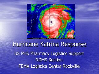 Hurricane Katrina Response