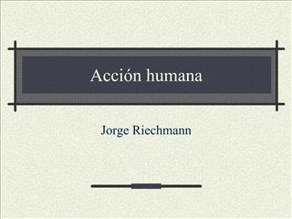 Acci n humana