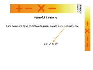 Powers  Exponents