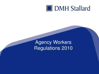 Agency Workers  Regulations 2010