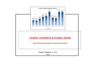 GLOBAL ANTITRUST  GLOBAL TRADE.                                 Price-Fixing, Global Mergers  Extraterritoriality.