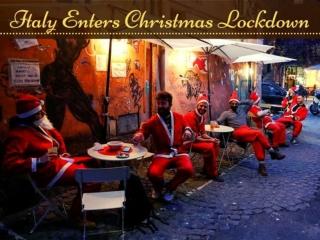 Italy enters Christmas lockdown