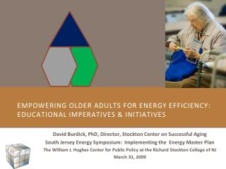 Empowering Older Adults for Energy Efficiency: Educational Imperatives  Initiatives