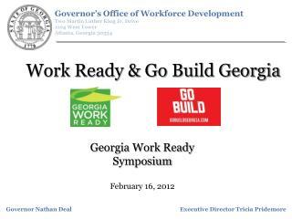 Work Ready  Go Build Georgia