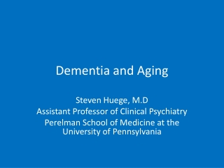 Aging:, , ,