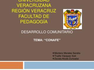 Universidad Veracruzana Regi n Veracruz Facultad de Pedagog a