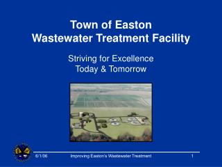 Town of Easton  Wastewater Treatment Facility