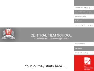 Central Film School � Your Gateway To Filmmaking Industry