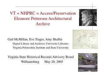 VT  NHPRC  Access