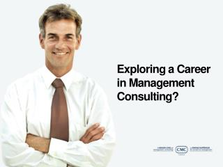 Exploring a Career in Management Consulting