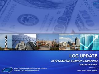 LGC UPDATE