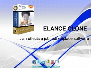 Elance Clone - Scriptgiant