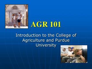 AGR 101