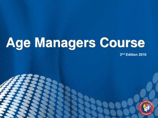 Age Managers Course