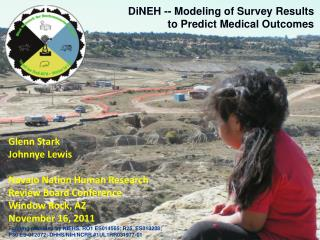 DiNEH -- Modeling of Survey Results  to Predict Medical Outcomes