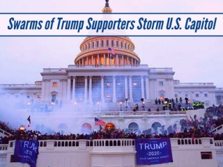 Swarms of Trump supporters storm U.S. Capitol