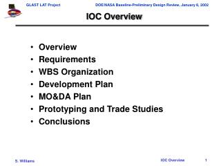 IOC Overview