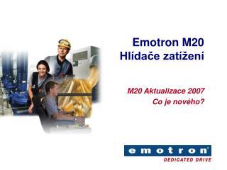 Emotron M20 Hl dace zat  en