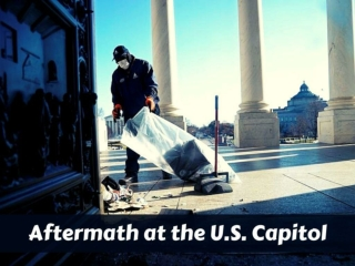 Aftermath at the U.S. Capitol