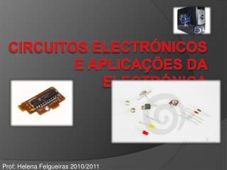 Circuitos electr nicos e aplica  es da electr nica