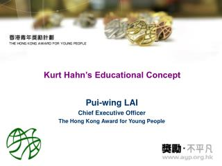 Kurt Hahn s Educational Concept