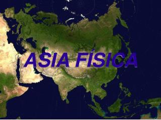 ASIA F SICA