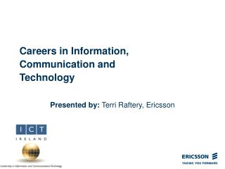 Careers in Information, Communication and Technology