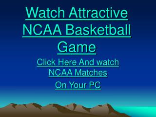 Blackbirds vs Tar Heels NCAA Basketball Live Streaming on PC