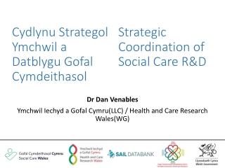 Blaenoriaethau Cyngor Gofal Cymru Care Council for Wales Priorities