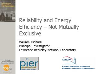Reliability and Energy Efficiency   Not Mutually Exclusive