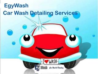 EgyWash - Car Wash Detailing Services