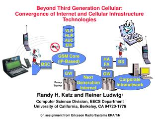 Beyond Third Generation Cellular: Convergence of Internet and Cellular Infrastructure Technologies