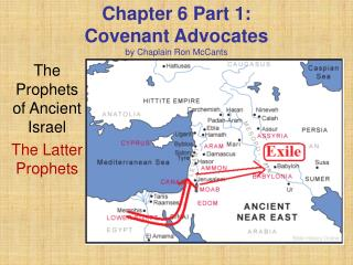 Chapter 6 Part 1:  Covenant Advocates by Chaplain Ron McCants