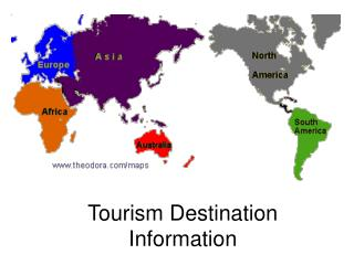 Tourism Destination Information