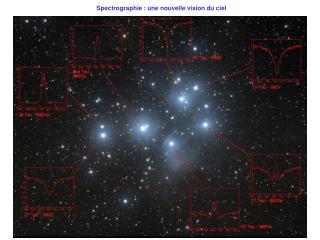 Spectrographie : une nouvelle vision du ciel