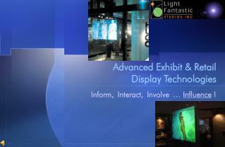 Advanced Exhibit  Retail  Display Technologies