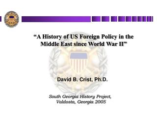 David B. Crist, Ph.D.