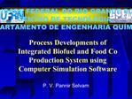 UNIVERSIDADE FEDERAL DO RIO GRANDE DO NORTE CENTRO DE TECNOLOGIA DEPARTAMENTO DE ENGENHARIA QU MICA