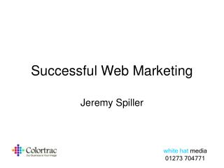 Successful Web Marketing