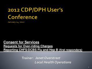 2012 CDP