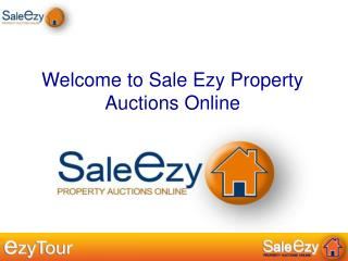 Welcome to Sale Ezy Property Auctions Online